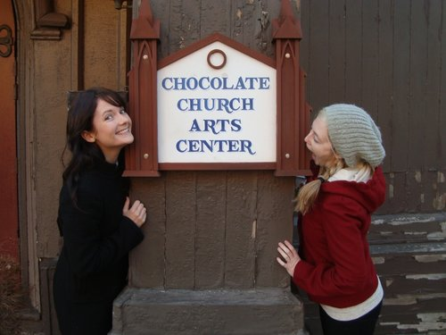 Choc church sign