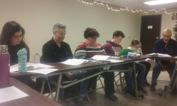 Merlin players read through 2